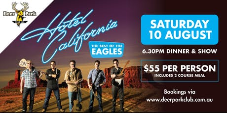 Hotel California - The Eagles Tribute Show tickets