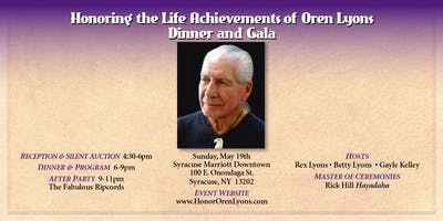 Honor Oren Lyons Dinner and Gala