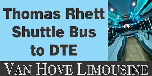 Thomas Rhett Shuttle Bus to DTE from O'Halloran's / Orleans Mt. Clemens