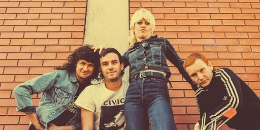 Amyl and the Sniffers with Muejeres Podridas and Hotmom @ Barracuda Austin