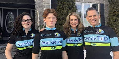 Volunteer Page for the Tour de T1D tickets