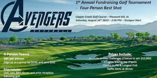 DSM Avengers 1st Annual Golf Fundraiser - 4-Man Best Shot