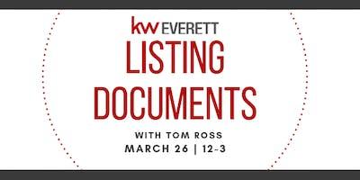 Listing Documents