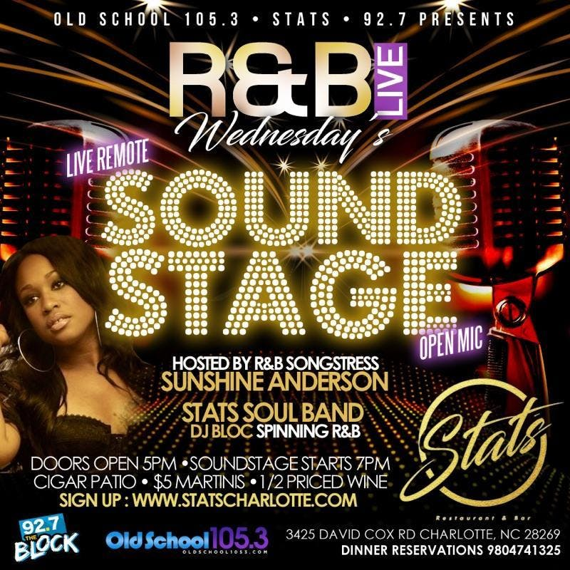 R&B Soundstage Wednesday at STATS