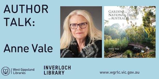 Author Talk : Anne Vale @ Inverloch Library