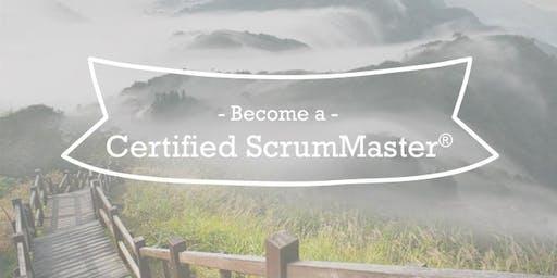 Certified ScrumMaster (CSM) Course, Boulder, Colorado, July 30-31, 2019