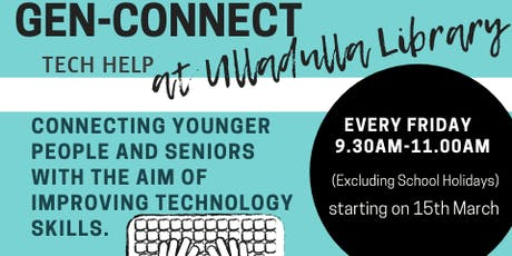 Gen-Connect - Ulladulla Library tickets