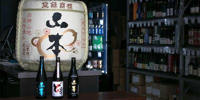 Yamamoto Sake Tasting - Sakeshop Sydney