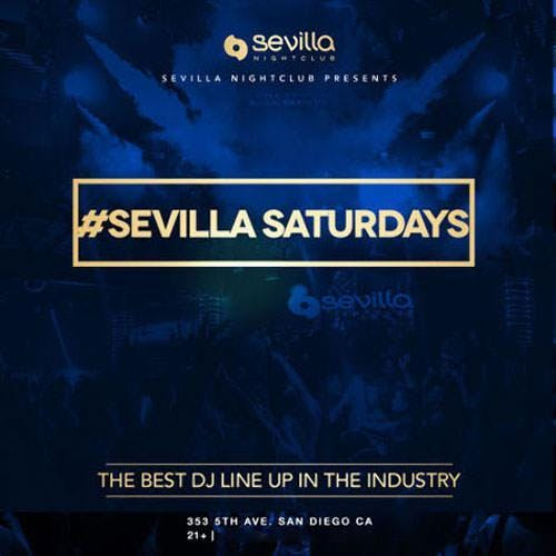 Sevilla Saturdays at Sevilla Nightclub Discou