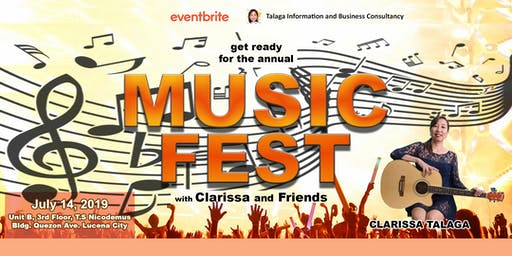 July Music Fest with Clarisse and Friends