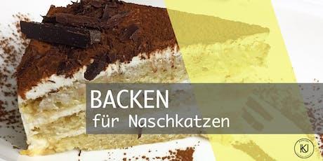 Backen für Naschkatzen mit Gaby Kaschewitz Tickets
