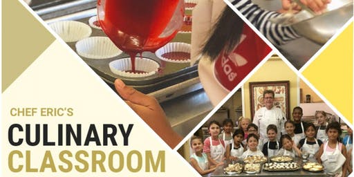 Kid's Summer Cooking and Baking Camps - Culinary Academy 1 - July 29 - August 1