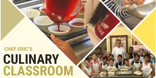 Kid's Summer Cooking and Baking Camps - Culinary Academy 2 - August 12-15
