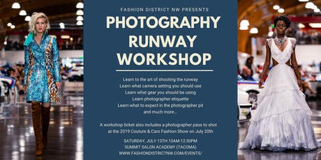 Runway Photography Workshop tickets