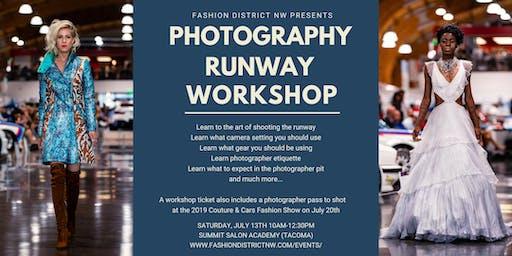 Runway Photography Workshop