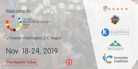 Global Entrepreneurship Week DMV 2019 tickets