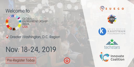 Global Entrepreneurship Week DMV 2019