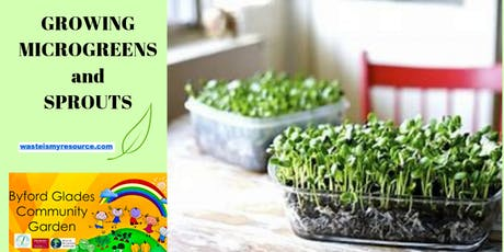 Growing Microgreens and Sprouts tickets