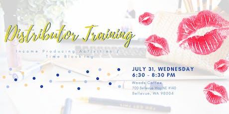 July SeneGence Distributor Training tickets