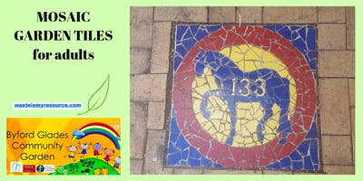 Mosaic Garden Tiles (For Adults)
