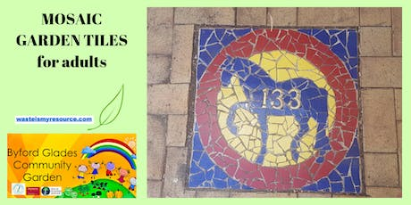 Mosaic Garden Tiles (For Adults) tickets