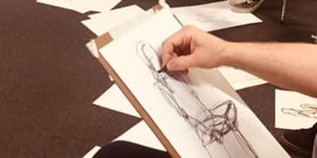 Life drawing with Tessa Houghton-6 course tickets