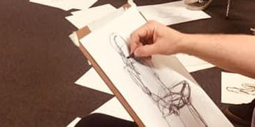 Life drawing with Tessa Houghton-6 course