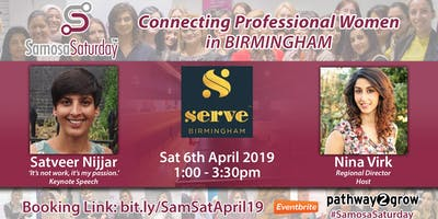 Samosa Saturday - Connecting Professional Women Sat 6th April
