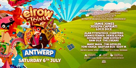 elrow Town Antwerp  tickets
