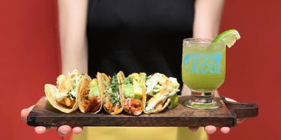 Vegan Tipsy Tacos! With profits going to Macmillan Caring Locally