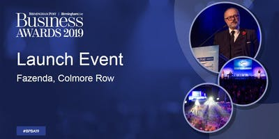 Birmingham Post Business Awards - Launch event