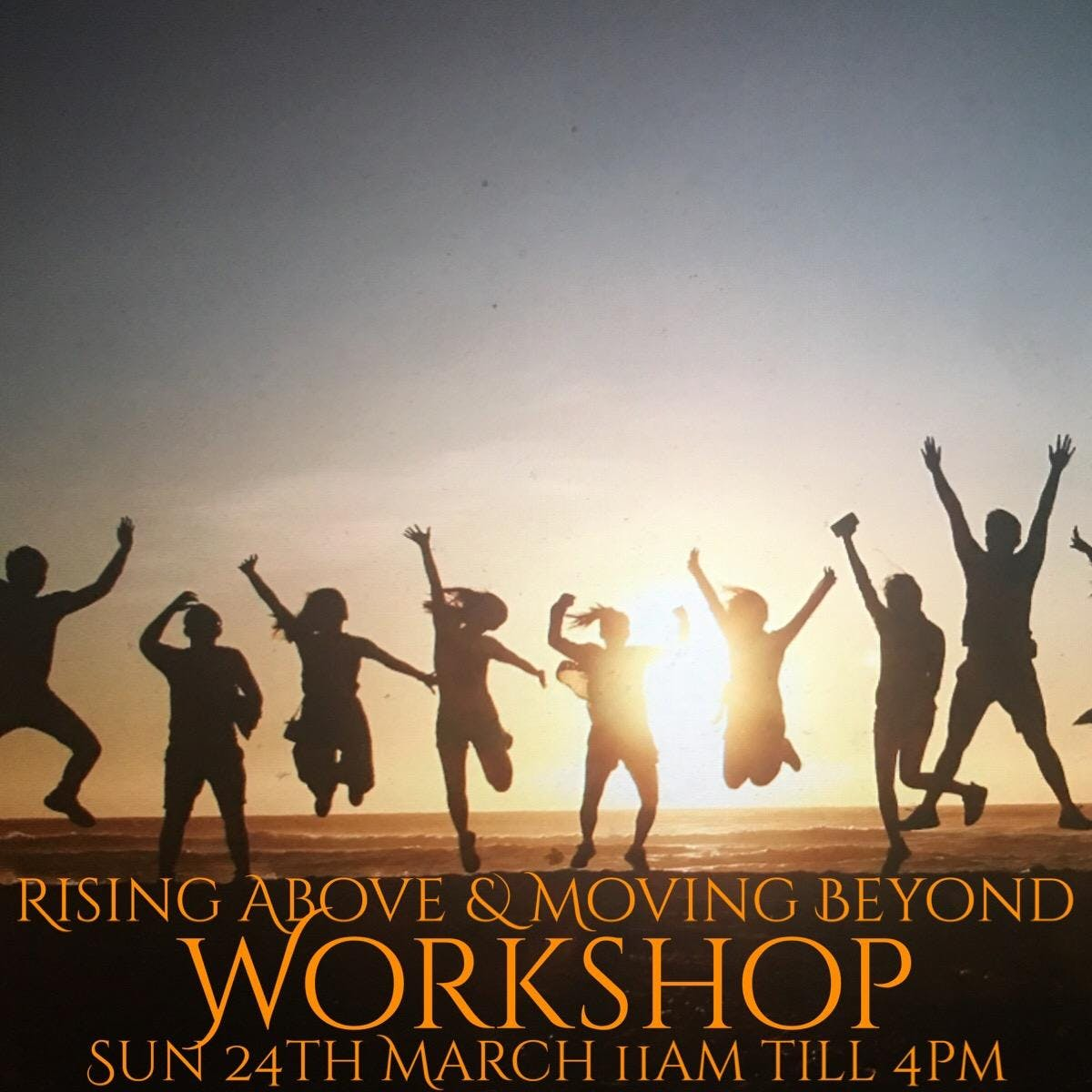 Rising Above & Moving Beyond Workshop~Create