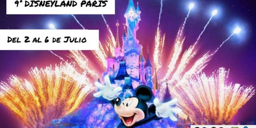 9º DISNEYLAND PARIS. Del 2 al 6 de julio