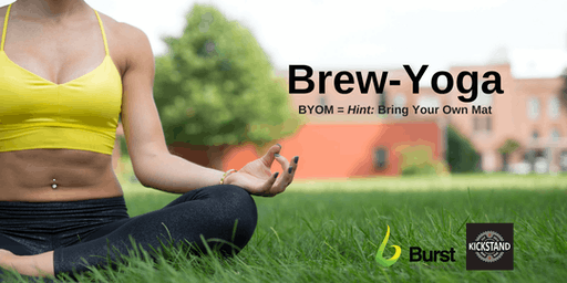 Brew-Yoga with Burst