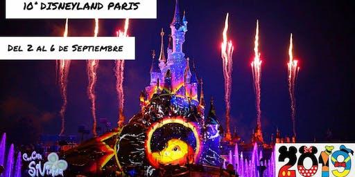 10ª DISNEYLAND PARIS. Del 2 al 6 de Septiembre