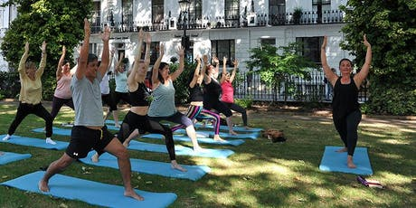 Yoga in the Square - Free Event  tickets