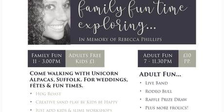 CRY Family Fun Day, Evening Entertainment (Adults Only)  tickets