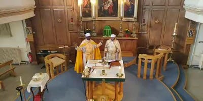 LONDON Catholic Christian Church - Mass Sung in ETHIOPIAN