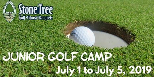 Junior Golf Camp - July 22 to July 26, 2019