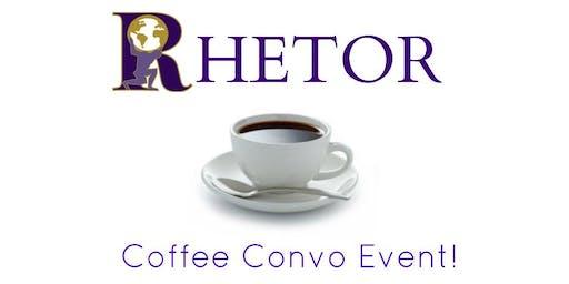 Rhetor Racine Coffee Convo! (News Discussion Group)