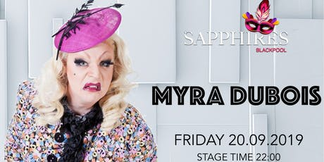 Myra Dubois - Live On Stage tickets