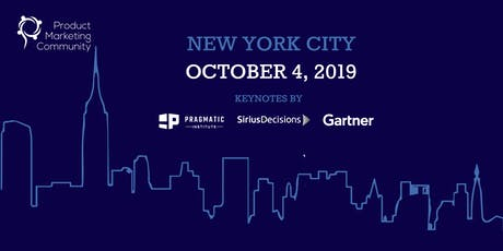 Product Marketing Community: New York City Conference 2019 tickets