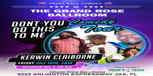 Kerwin Claiborne LIVE