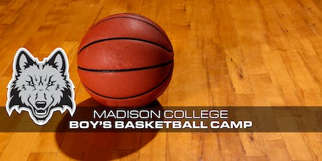 2019 Madison College Boys Basketball Camps tickets
