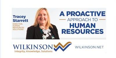 Wilkinson Human Resources Solutions - Bill 47 Employment Standards