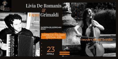 """Crazy for Cello and Accordian"" - De Romanis&Grimaldi DUO"