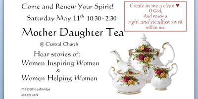 Mother Daughter Tea Fundraiser and Conference
