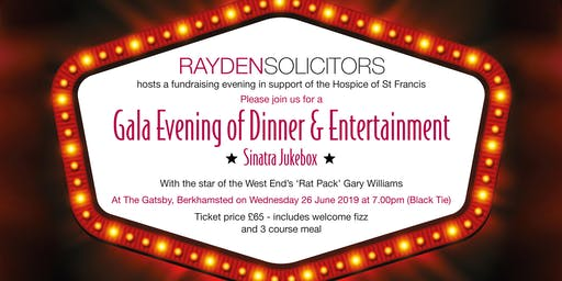Rayden Solicitors Gatsby Gala 2019