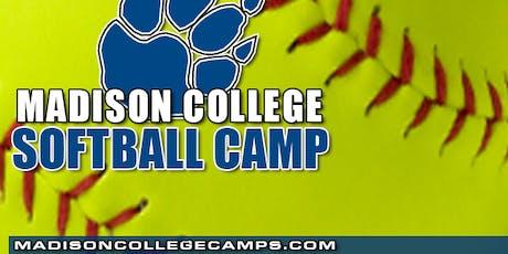 2019 Madison College Summer Training Softball Camp - Hitting tickets