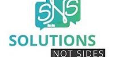 Solutions Not Sides Event